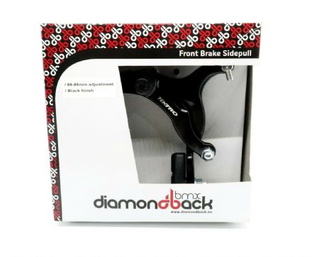 Diamondback BMX Alloy Side Pull Bike Brake Caliper - Front or Rear - Black